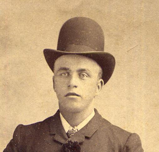 Images of 19th Century men s hats. Image ... 3f66a684c2c